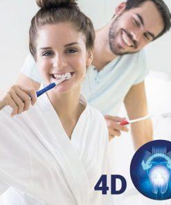Четка за зъби 4D (опаковка от 2)