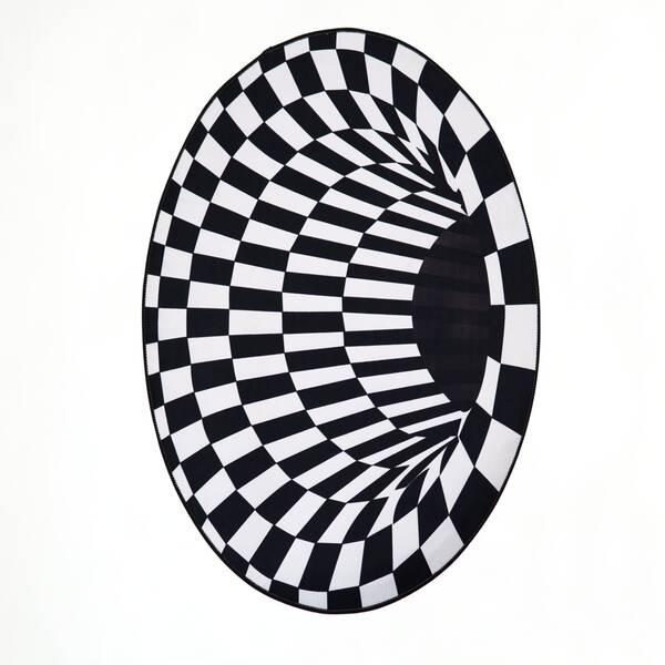 Килим с Оптична Илюзия