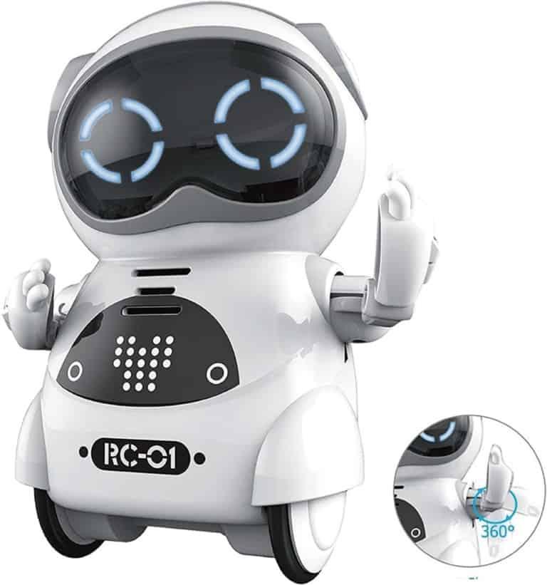 Мини образователен джобен робот