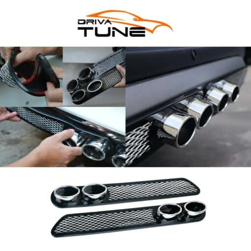 DRIVA TUNE® Стикер за Спортен Ауспух на Автомобил